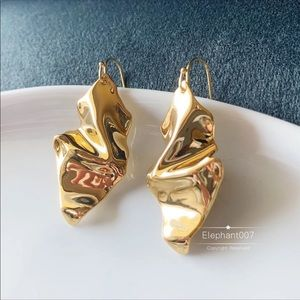 Alexis bittar gold earrings
